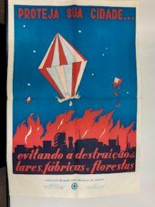 Fundo Pantaleone Arcuri - peça de propaganda de prevenção de incêndios