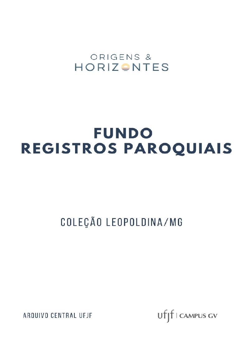 Registros históricos de Leopoldina/MG
