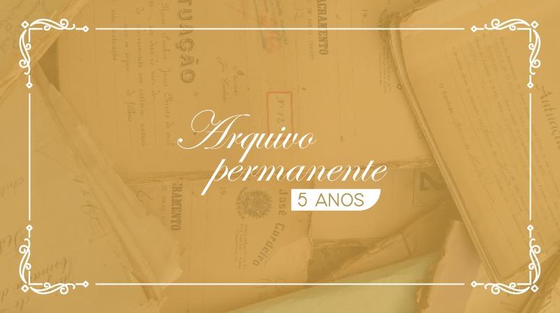 5 anos do Arquivo Permanente do Tribunal de Justiça do Estado de Minas Gerais