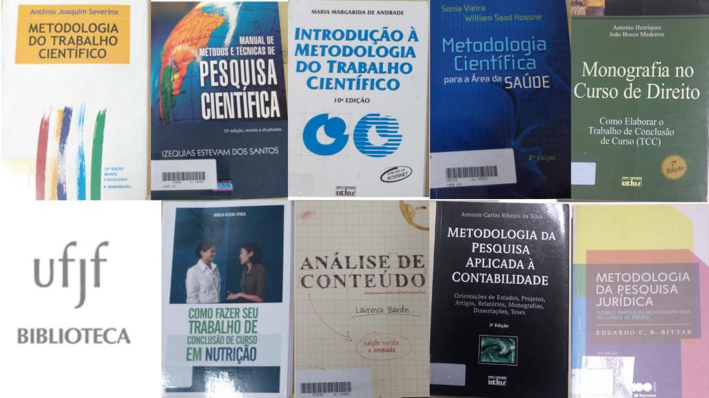 Livros metodologia de pesquisa