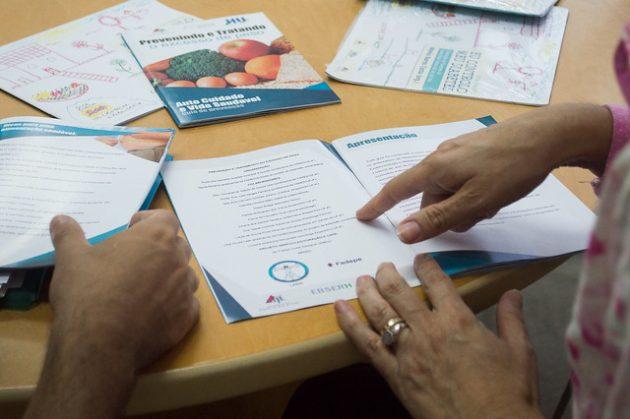 Projeto lança cartilha sobre tratamento e prevenção de sobrepeso