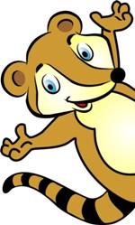 Nosso mascote Quark espera por você