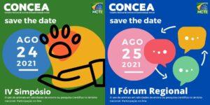 CEUA/UFJF DIVULGA: Inscrições abertas para o IV Simpósio e II Fórum Regional do Concea/MCTI