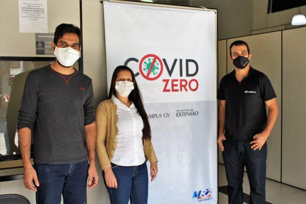 Programa COVID ZERO distribui mais de 800 máscaras face shield para os municípios da região Leste de MG