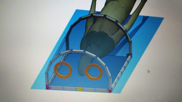 Pesquisadores da UFJF utilizam impressora 3D para desenvolver protótipo de EPI