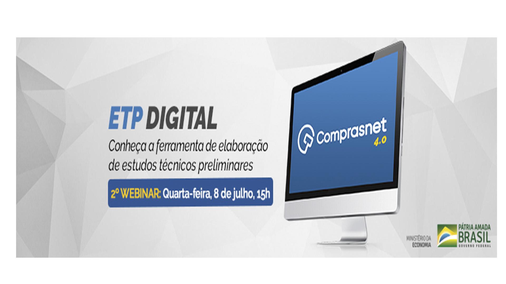2º Webinar – ETP Digital