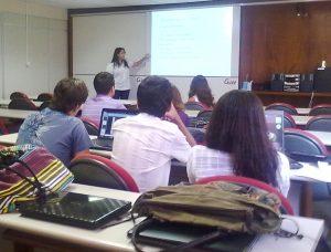 Apresentação dos estudos mercadológicos dos 15 projetos contemplados no PII da UFJF, através da coordenação do Critt