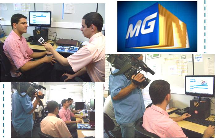 Empresa incubada no Critt UFJF é fonte de matéria na TV Panorama - TVGlobo MG