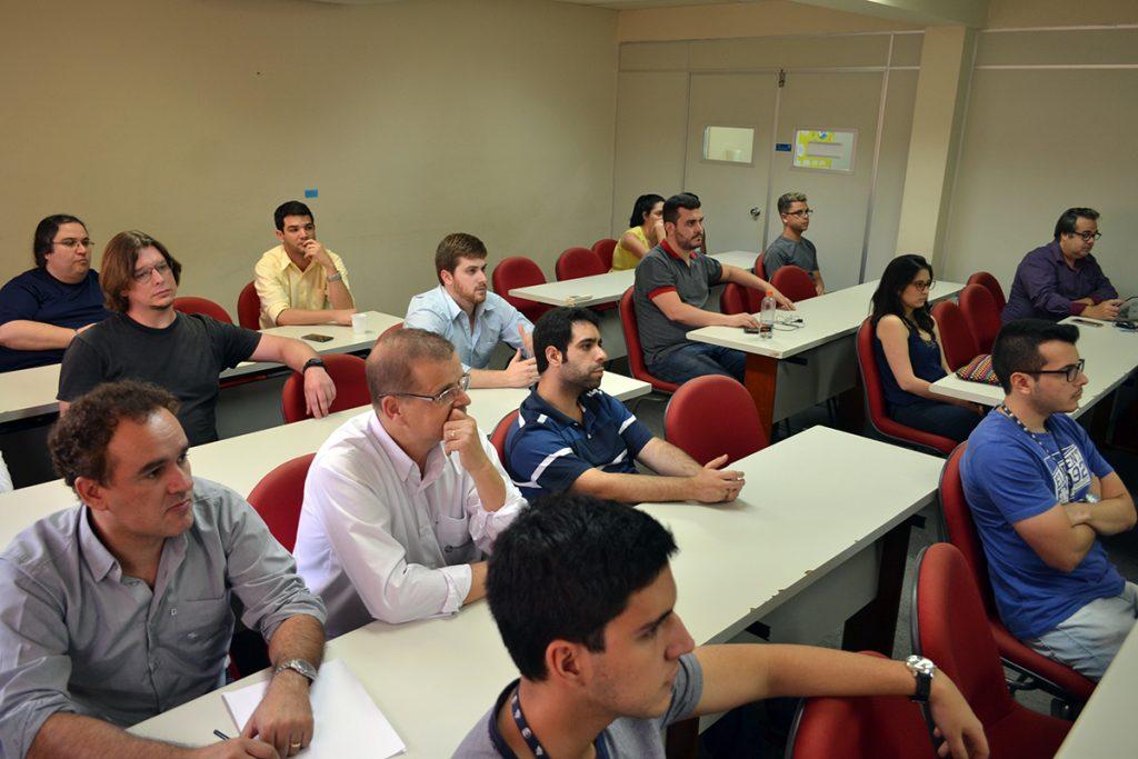 Em setembro, empresários participaram de rodada com entidade de fomento. Foto: Lucas Guedes/UFJF