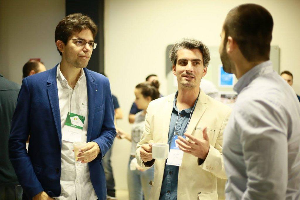 Diogo Fernandes( à esquerda) foi convidado para compor a equipe de mentores do programa. Foto: Divulgação