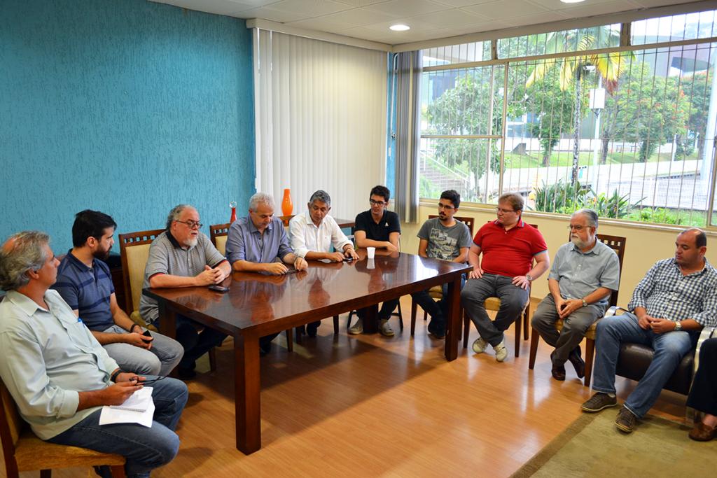 Colaboradores do Critt/UFJF também integrarão comissão, que deverá elaborar modelo de desafio. Foto: Lucas Guedes/UFJF