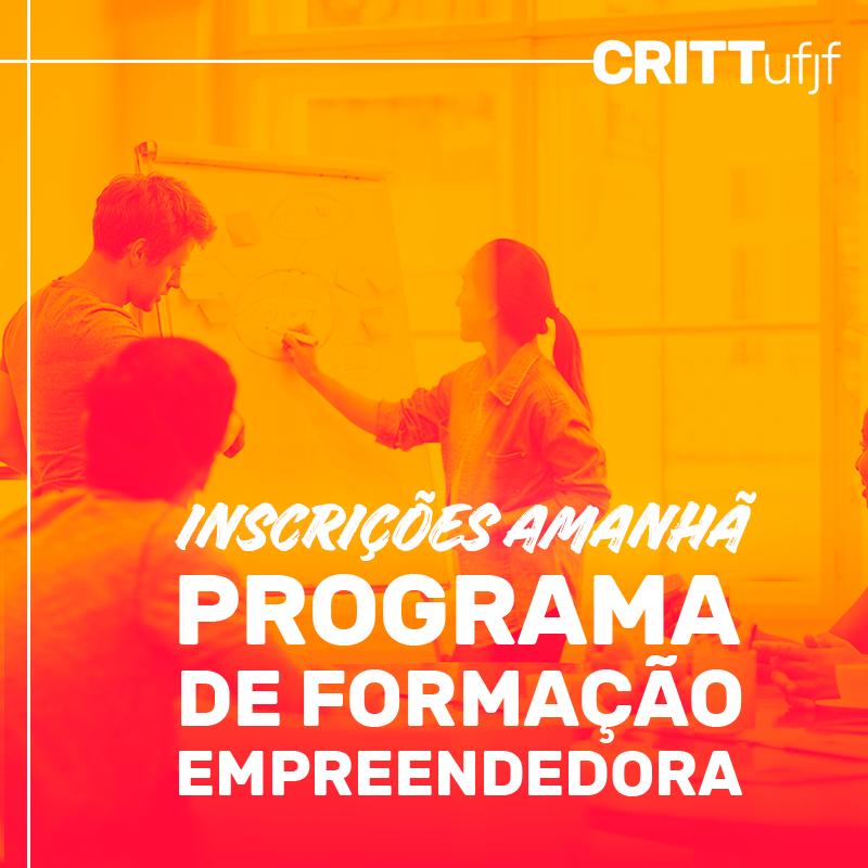 Inscrições para a 6ª edição do Programa de Formação Empreendedora começam na próxima sexta-feira, 14