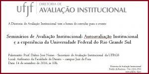 Convite virtual Evento JF