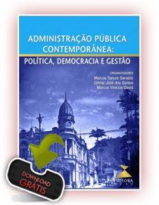 Capa Administração Pública Contemporânea