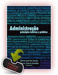 Capa Administração Princípios Teóricos e Práticos