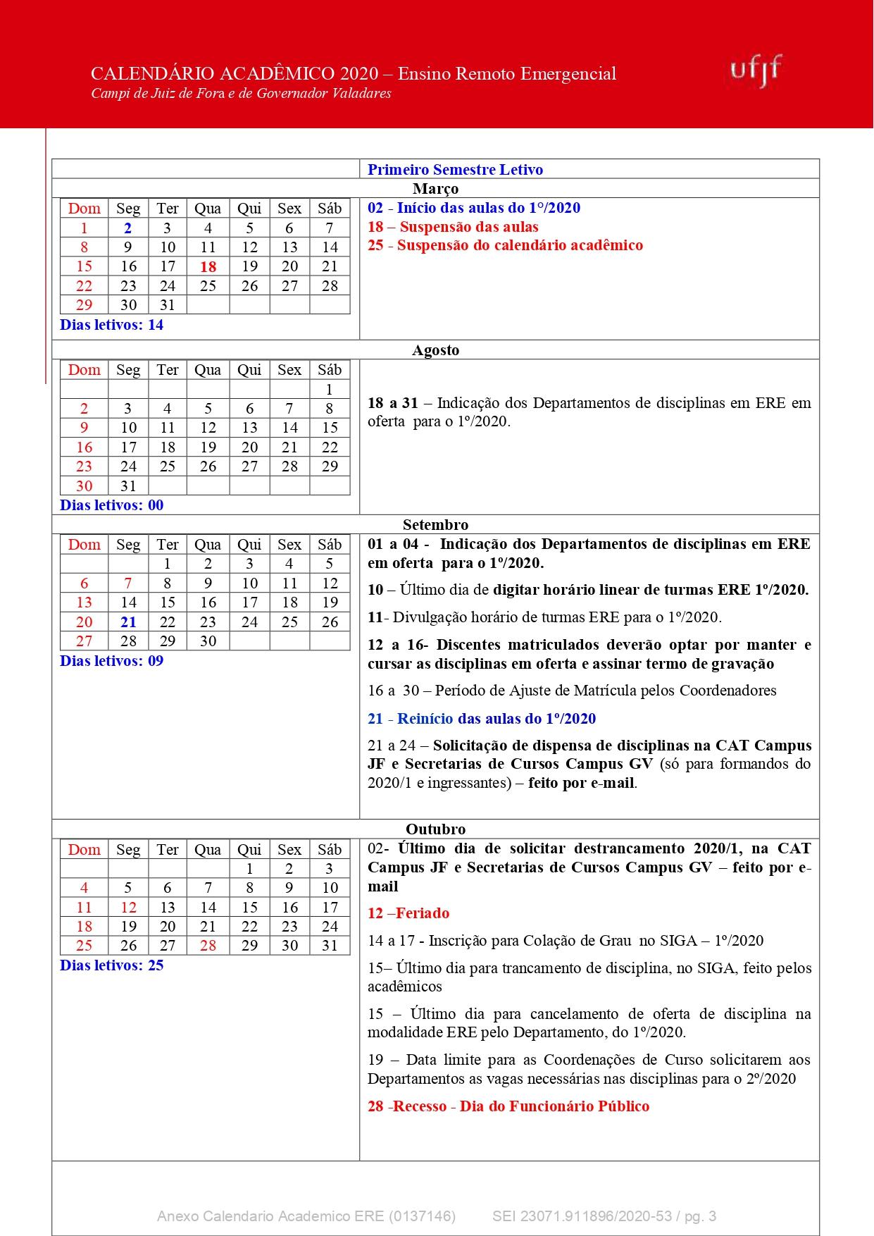 O Calendário pode ser acessado, também, no arquivo em *.pdf da Resolução Prograd nº 30/2020.