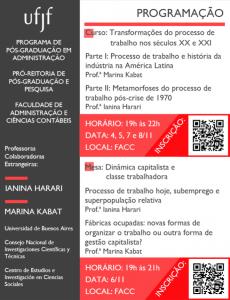 Cartaz professoras estrangeiras