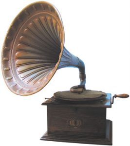 Foto do gramofone