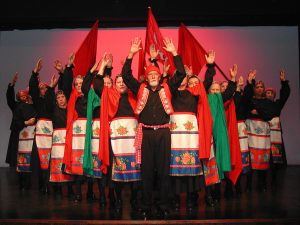 """Foto da apresentação """"Fados e desgarradas"""", realizada em 2007"""