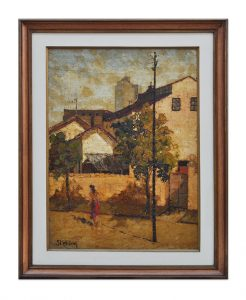 "Foto do quadro ""Tarde de Sol"", de Renato Stehling"