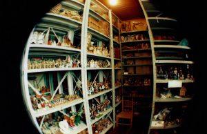 Foto da Sala do Acervo do Museu de Cultura Popular