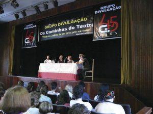 """Foto do Seminário """"Os Caminhos do Teatro"""""""