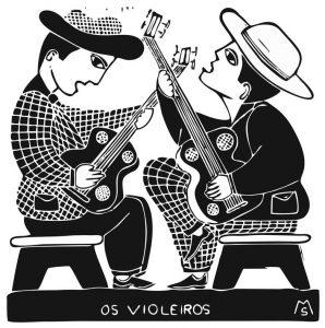 Os Violeiros: Xilogravura do pernambucano  MS (Marcelo Alves Soares)