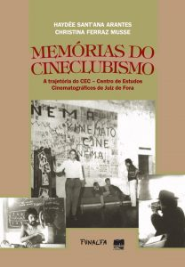 Capa do livro - Memórias do Cineclubismo