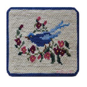 Passarinho azul_40 x 35 cm_Foto de Franciane Lúcia - web