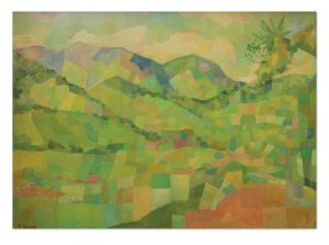 Obras de Ricardo Amorim destacam cenários de Minas Gerais