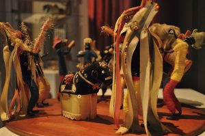 O Bumba-meu-boi é uma das manifestações folclóricas retratada na mostra. (Foto Franciane Lúcia)