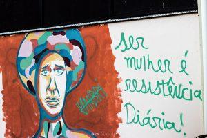 """A exposição """"Berro"""" fica exposta no Forum da Cultura até o próximo dia 2. Foto: Nicole Pinheiro."""
