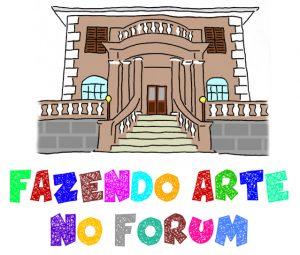 Forum da Cultura da UFJF recebe crianças de 8 a 11 anos em sua oficina de férias. Ilustração: Equipe Forum da Cultura.