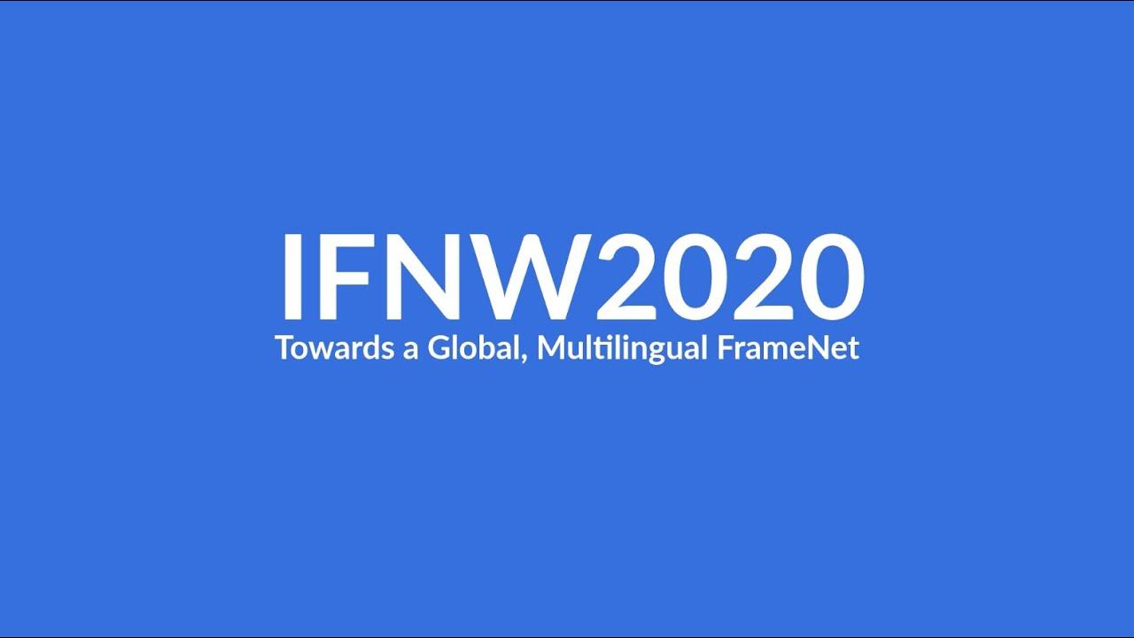 International FrameNet Workshop 2020