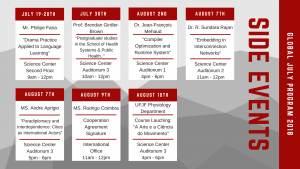 Side Events Calendar