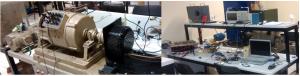 Bancada Experimental do sistema de tração do veículo elétrico