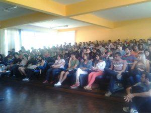 Palestra reuniu alunos de diversos cursos da Universidade