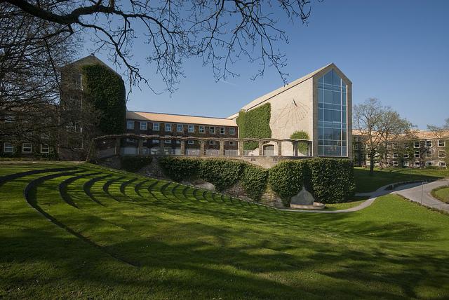 Prédio principal da Universidade de Aarhus, Dinamarca