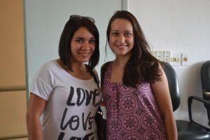 A mexicana Melissa Díaz e a sua buddy Deyse Laucher