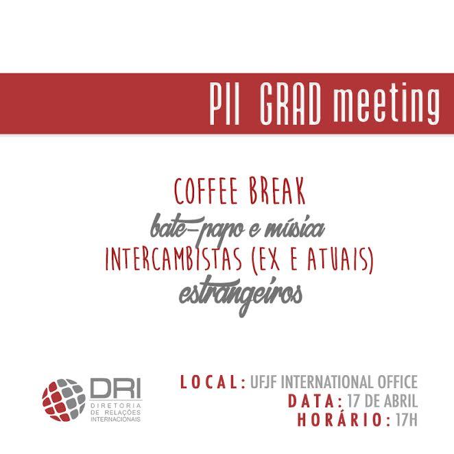 PII-GRAD Metting banner