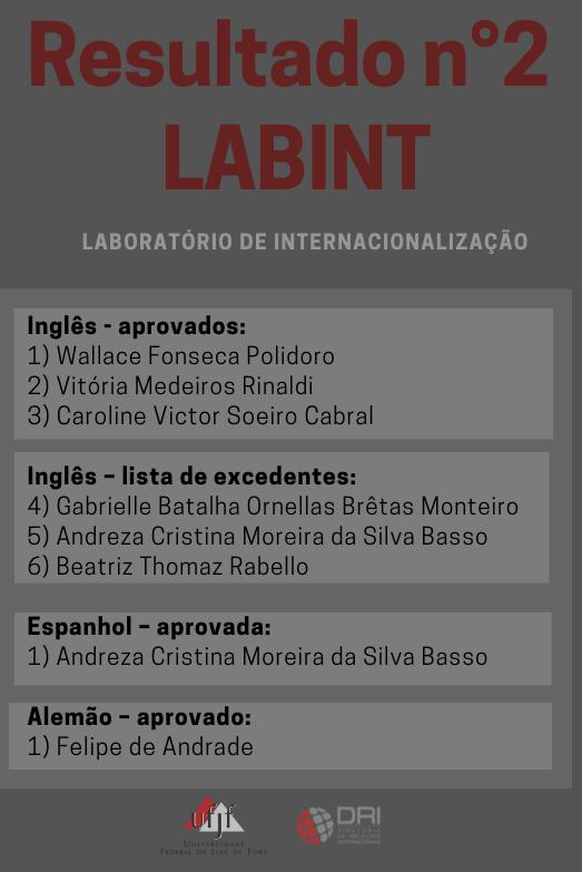 Resultado n°2 LABINT