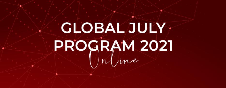 Global July 2021 terá encerramento com live sobre internacionalização em casa