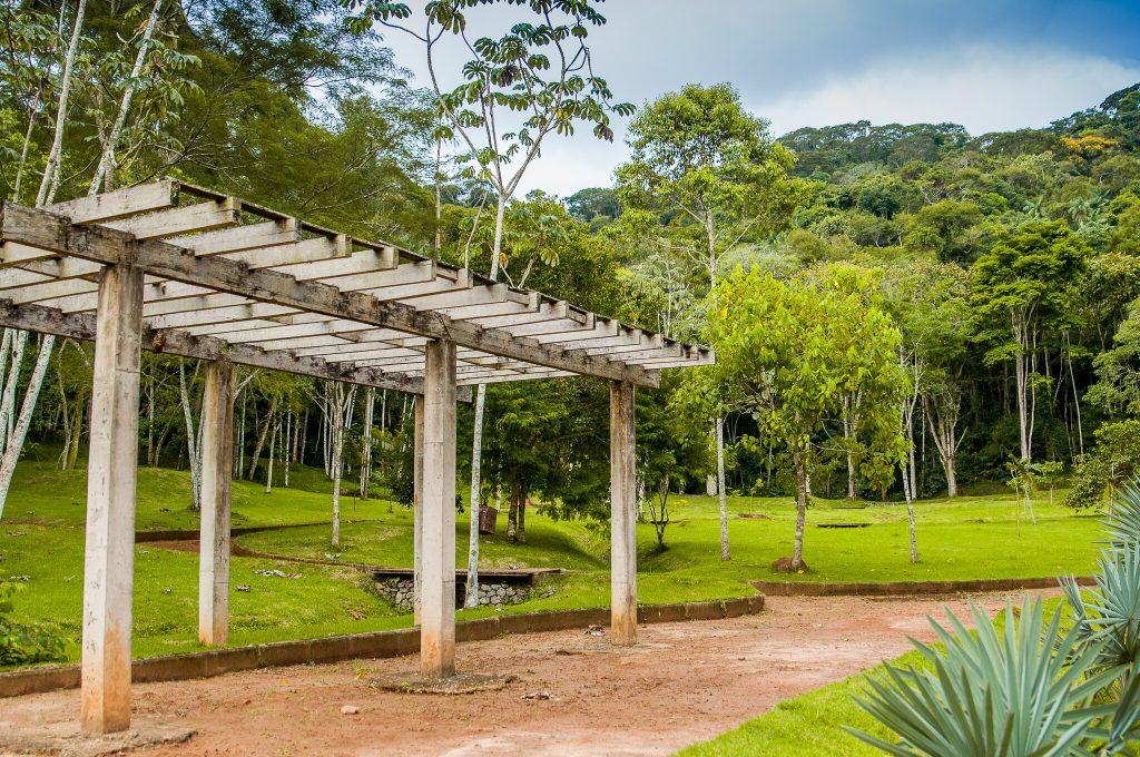 Área do Jardim (Foto: Gabriela Maciel/UFJF)