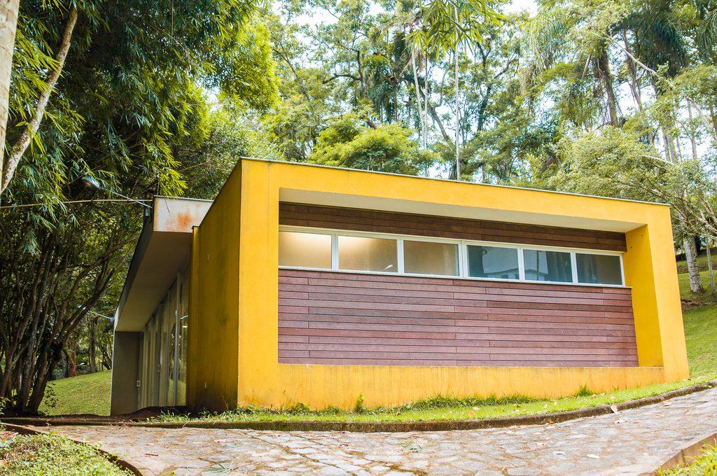 Casa de Educação Ambiental (Foto: Gabriela Maciel/UFJF)