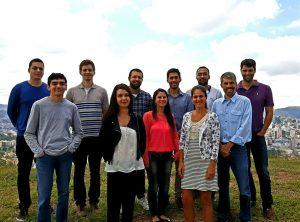 Equipe de pesquisadores do Lates: professores e pós-graduandos