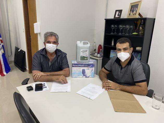 UFJF doa equipamentos de proteção e firma nova parceria com a Prefeitura de Governador Valadares