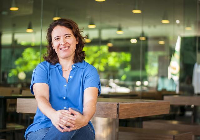 Entrevista com Maria José encerra série especial que reuniu pesquisadoras de renome de todas as áreas de conhecimento da UFJF (Foto: Géssica Leine)