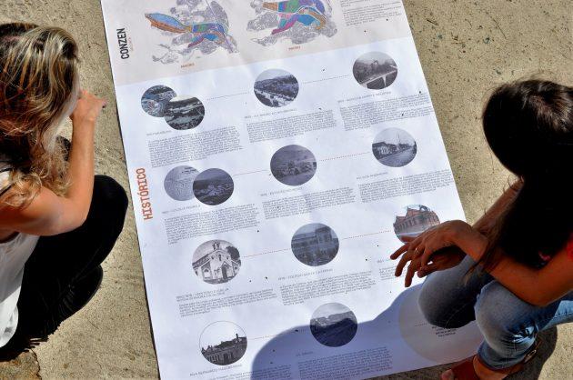 Professora_Ana_Barbosa_e_aluna_Arquitetura_mapa_quintais_Foto_Twin_Alvarenga_UFJF
