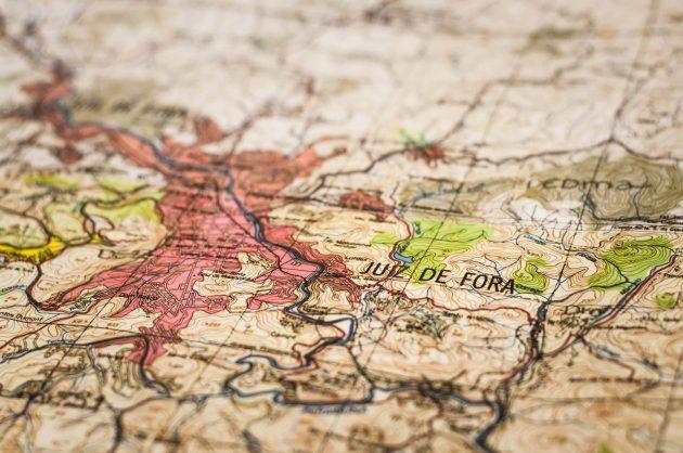 mapa zoneamento rio Paraibuna Foto Caíque Cahon