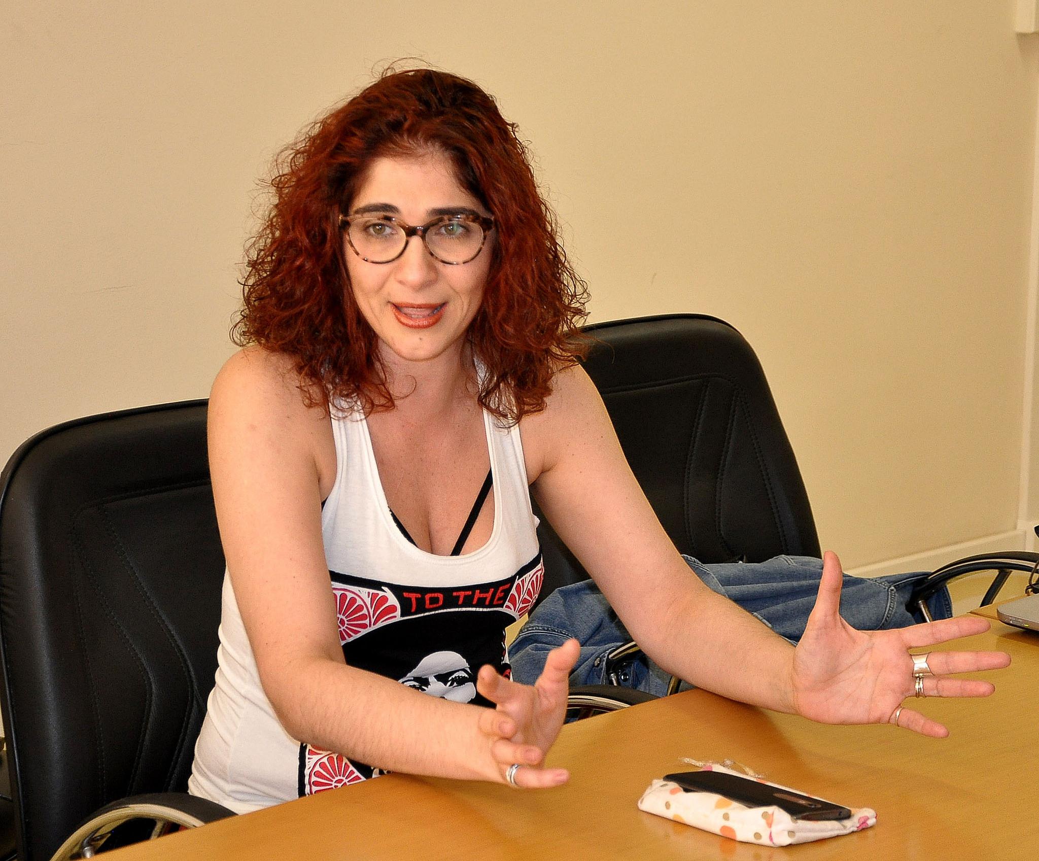 Daniela Auad - professora da Faced Foto Alexandre Dornelas